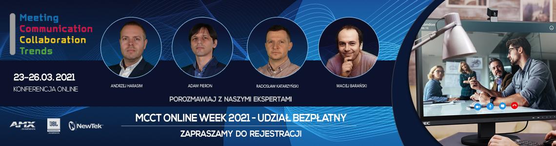 Konferencja MCCT online. Zarejestruj się!