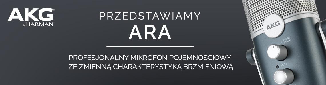 AKG - ARA nowy mikrofon pojemnościowy
